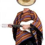 Mexikaner Kostüm Set