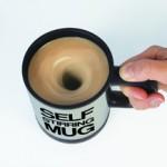Für bequeme Zeitgenossen: Die selbstrührende Tasse