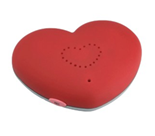 Magnetisches Herz für persönliche Liebesbotschaften